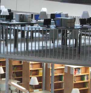 VSPW bibliotheek en open leercentrum